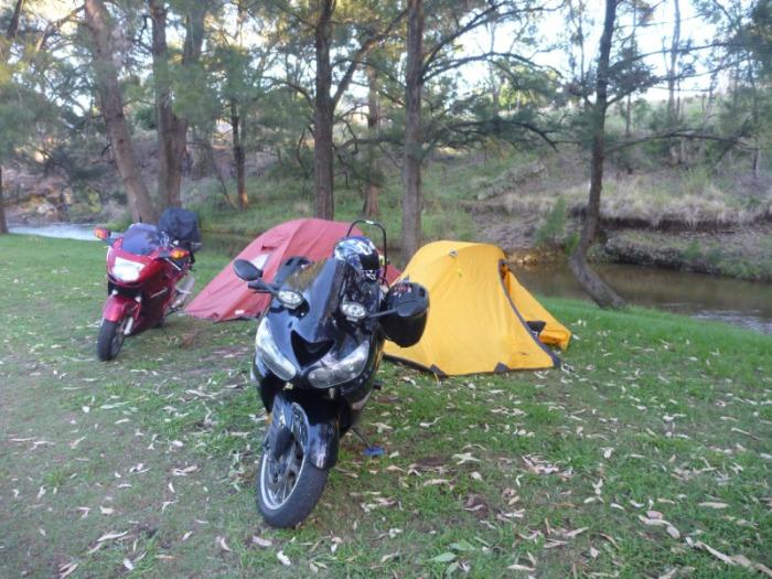 camping at Wallabadah