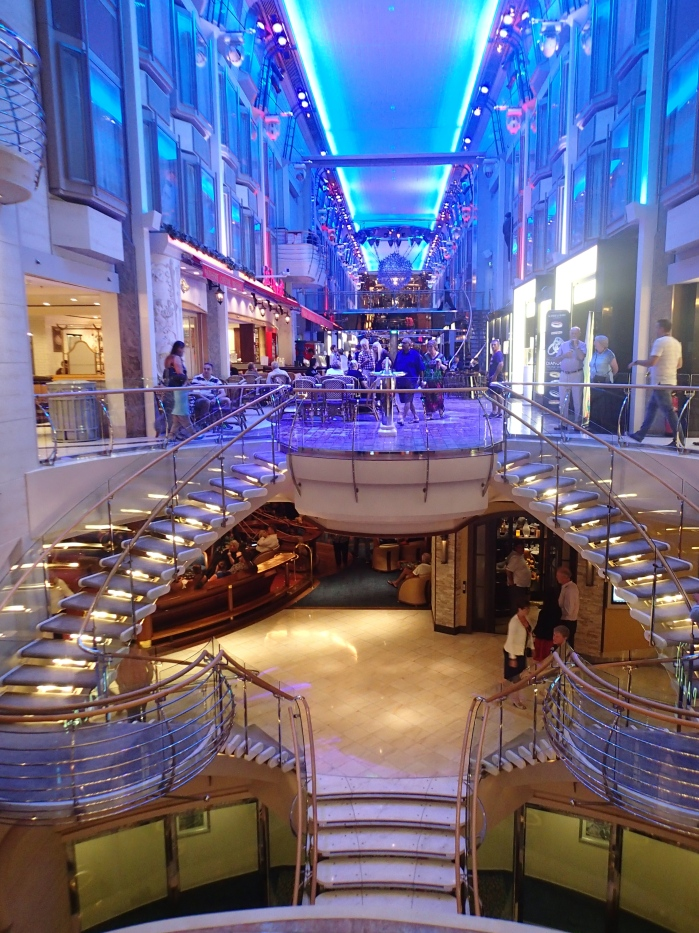 Promenade on the Explorer of the Seas