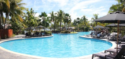 Sofitel Hotel pool - Fiji