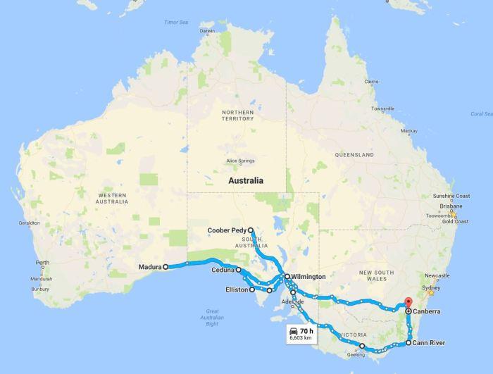 2017 Memorial Route