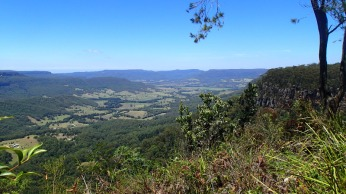 Overlooking Kangaroo valley