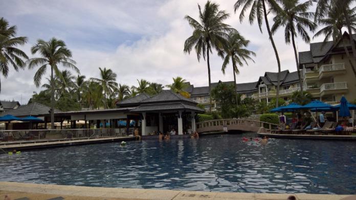 Pool bar at Resort