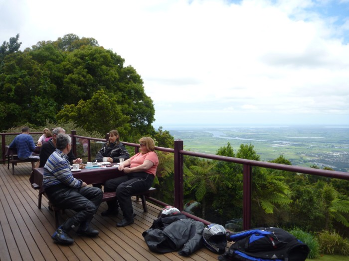 Cambewarra teahouse - Coffee with a view