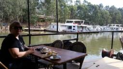 Paddle steamer - Euchuca