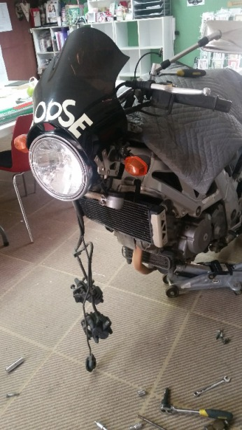 SV650 sans front end