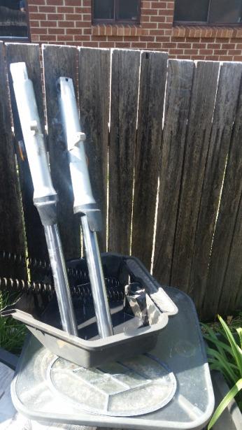 Forks draining