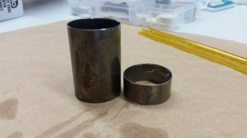 Spacers cut down by 35mm