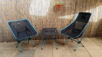 Zed14 Helinox camp furniture