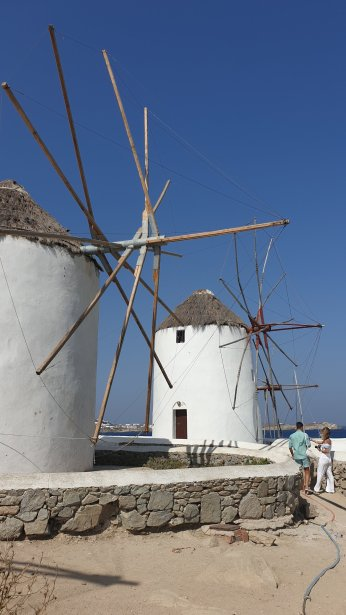 Windmills on Mykonos