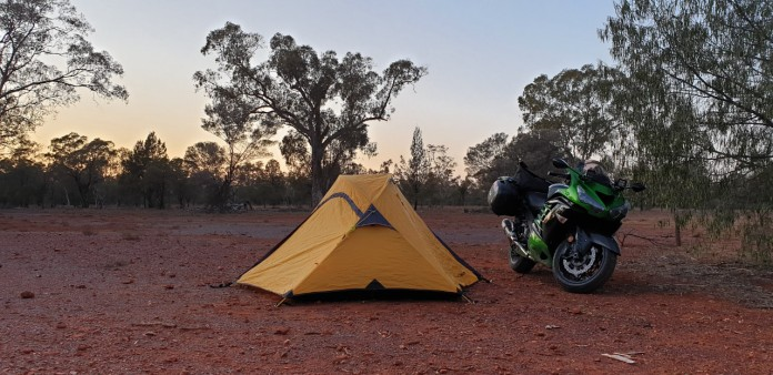 camping near Cobar
