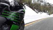 Zed14 - ZX14R in the snow