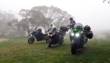 Camping with zx14r