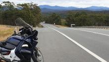 Escaping on the Honda ST1300