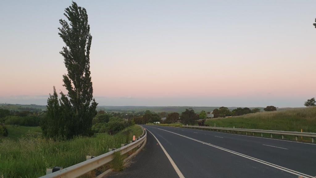 Dusk approaching Blayney